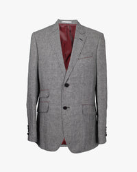 Black & White Puppytooth Reginald Jacket - Holland Esquire