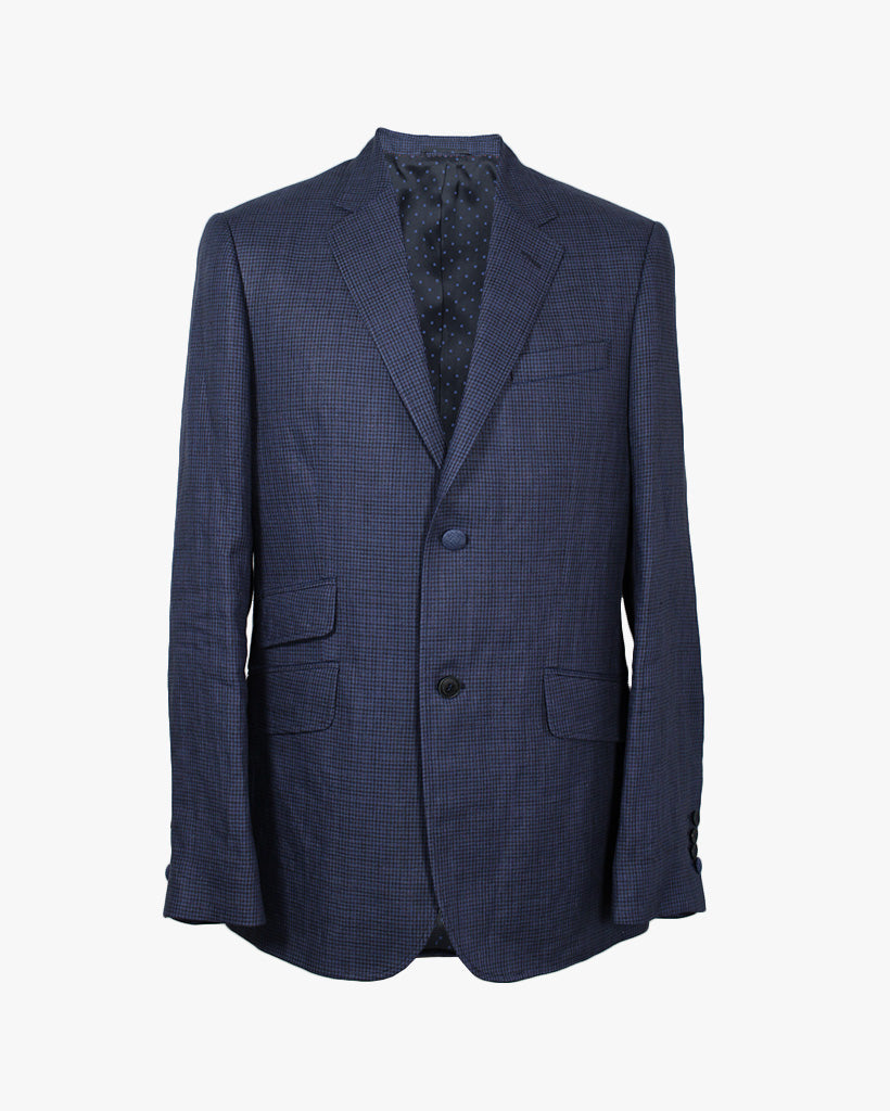 Royal Puppytooth Reginald Jacket - Holland Esquire