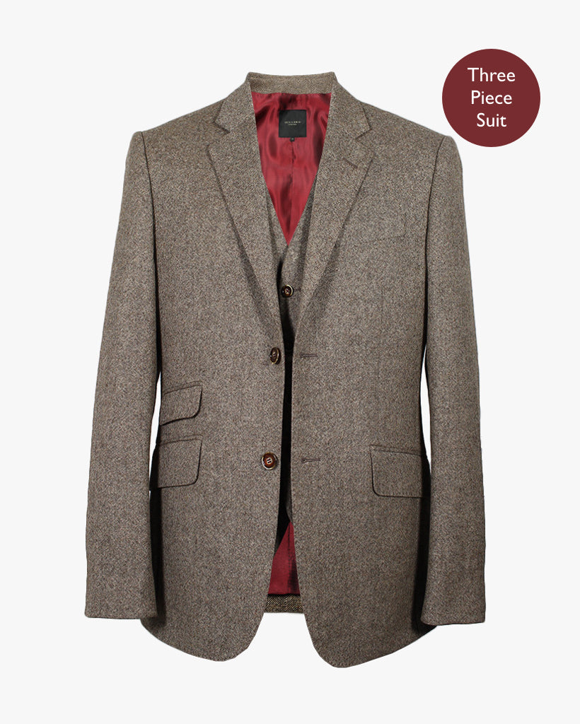 Tan Donegal Three Piece Suit