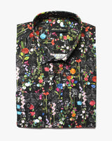 Black Liberty Wildflower Button Under Shirt