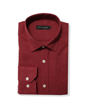 The AL Shirt Red - Holland Esquire