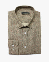 Mushroom Liberty Squares Button Under Shirt - Holland Esquire
