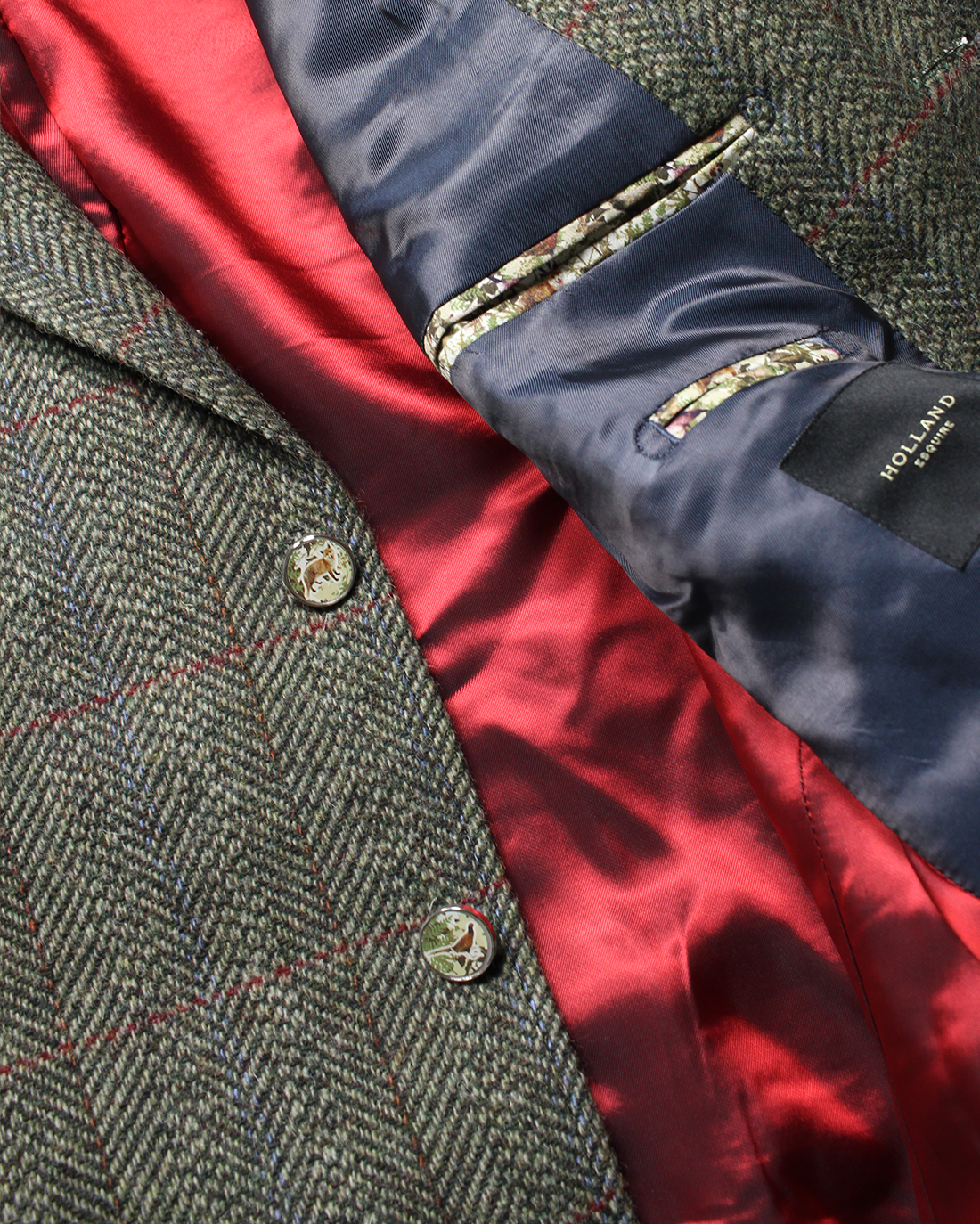 The ROTW Shooting Jacket - Holland Esquire