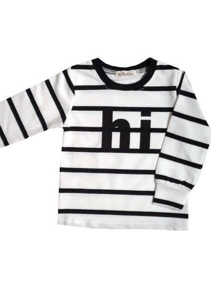 'Hi' Long Sleeve Jumper