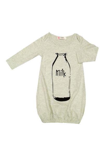 Long Sleeve 'Milk' Sleeping Pouch