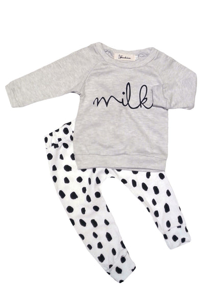 'Milk' Jumper & Pants Set