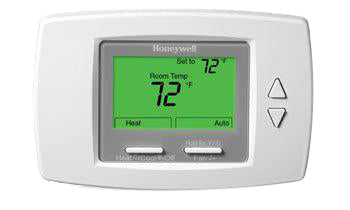 Honeywell Digital Fan Coil Thermostat - 24 VAC (low voltage)