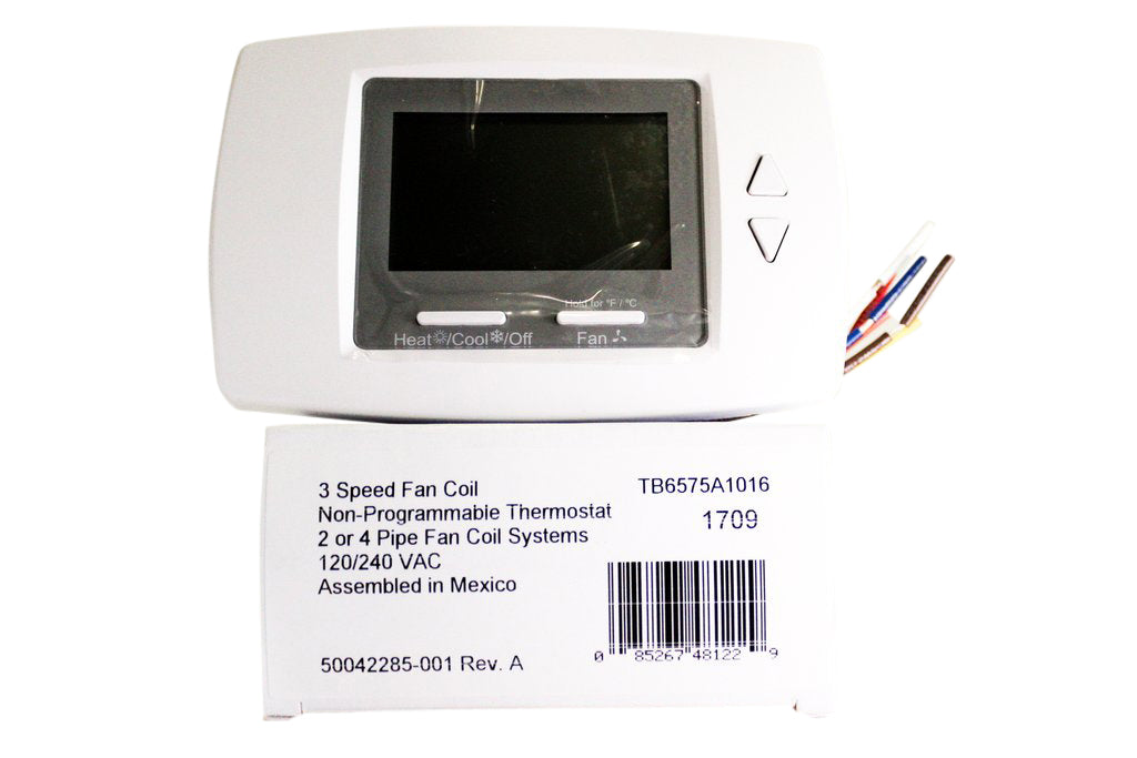 Honeywell Digital Thermostat - 120 VAC - Front