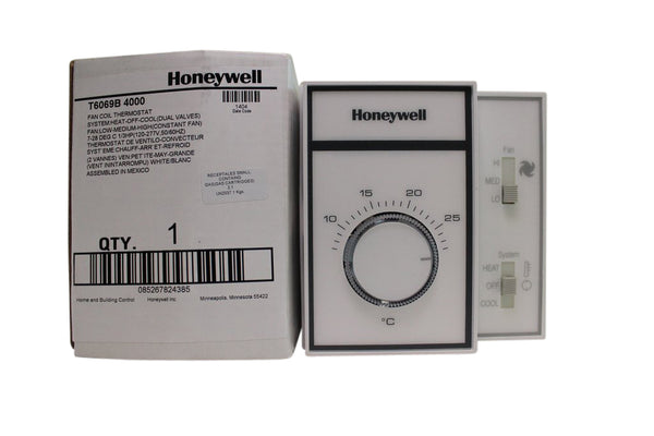 Honeywell Manual Change Over Mechanical Thermostat - 120 VAC on