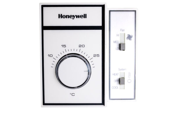 Honeywell Manual Change Over Mechanical Thermostat - 120 VAC