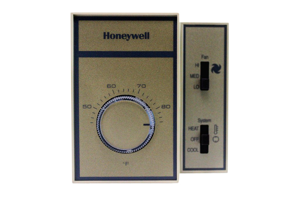 Honeywell Manual Changeover Mechanical Thermostat - 120 VAC
