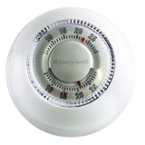 Honeywell Manual Round-Face Mechanical Thermostat - 24 VAC