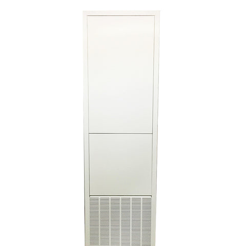 Integrated ERV/HRV Vertical Fan Coil Return Air Access Panel - Plain