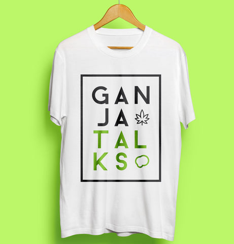 Ganja Talks - Camiseta