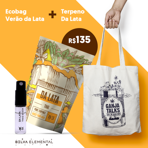 Kit Da Lata - Terpeno + Ecobag