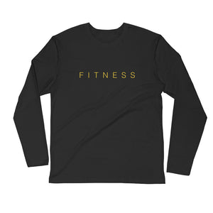 Wellfitness instructors Long Sleeve Fitted Crew (Male)