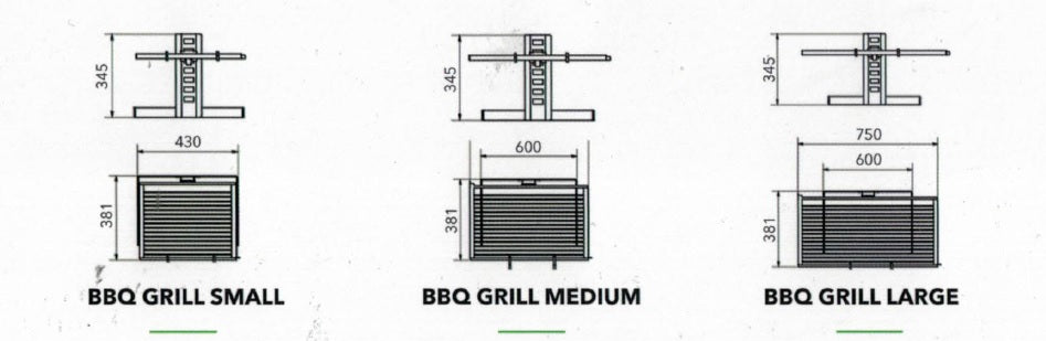 M-design Grille de Barbecue