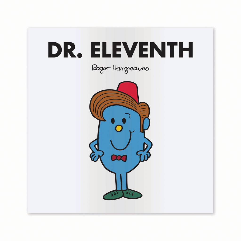 Dr. Eleventh Mounted Art Print