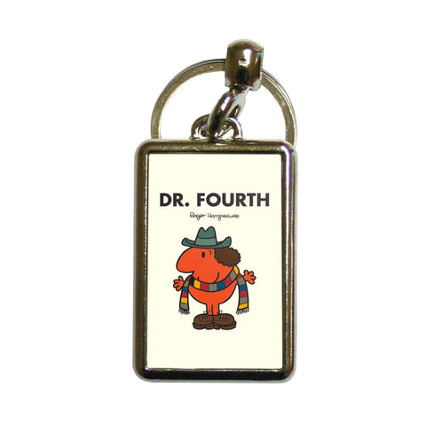 Dr. Fourth Metal Keyring