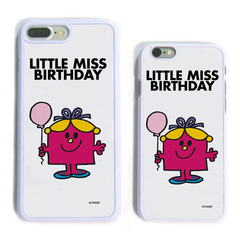 Little Miss Birthday White Phone Case