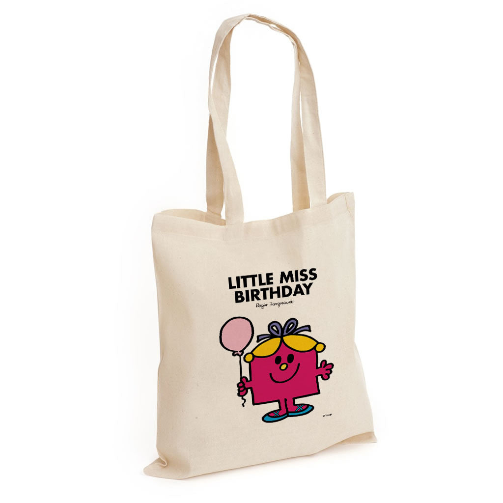 Little Miss Birthday Long Handled Tote Bag