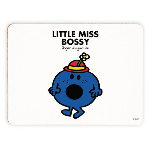 Little Miss Bossy Cork Placemat