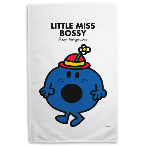 Little Miss Bossy Tea Towel