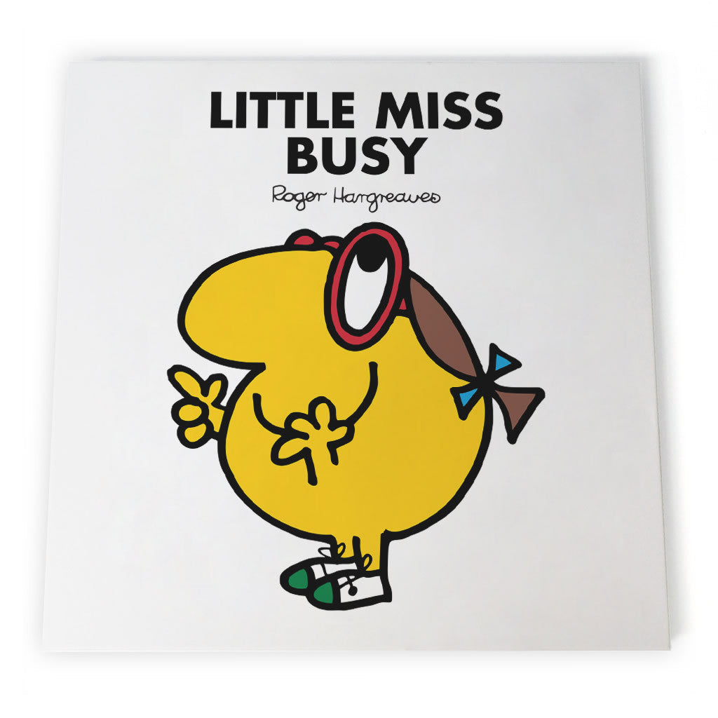 Little Miss Busy Canvas