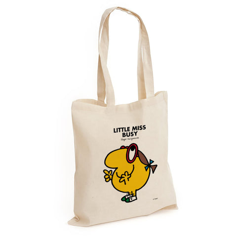 Little Miss Busy Long Handled Tote Bag