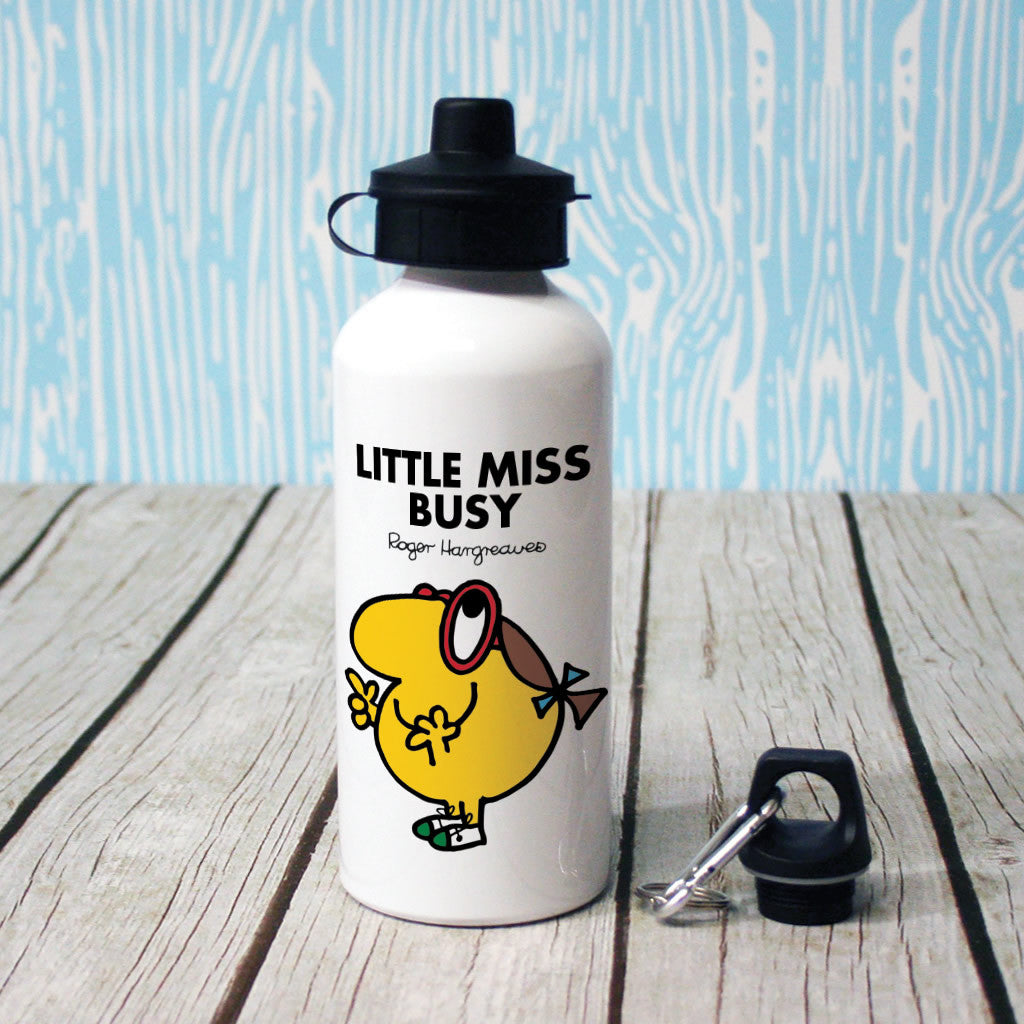 Little Miss Busy Water Bottle (Lifestyle)