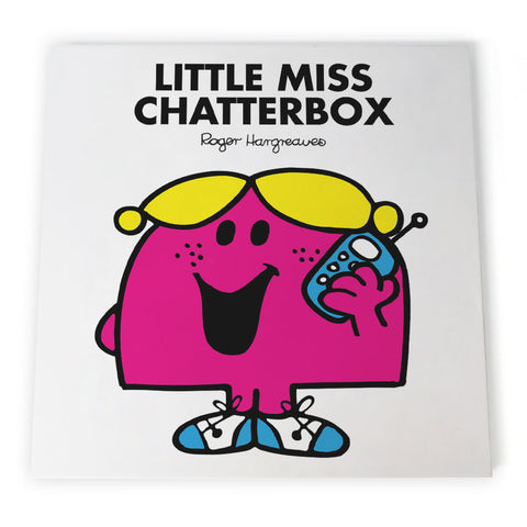 Little Miss Chatterbox Canvas