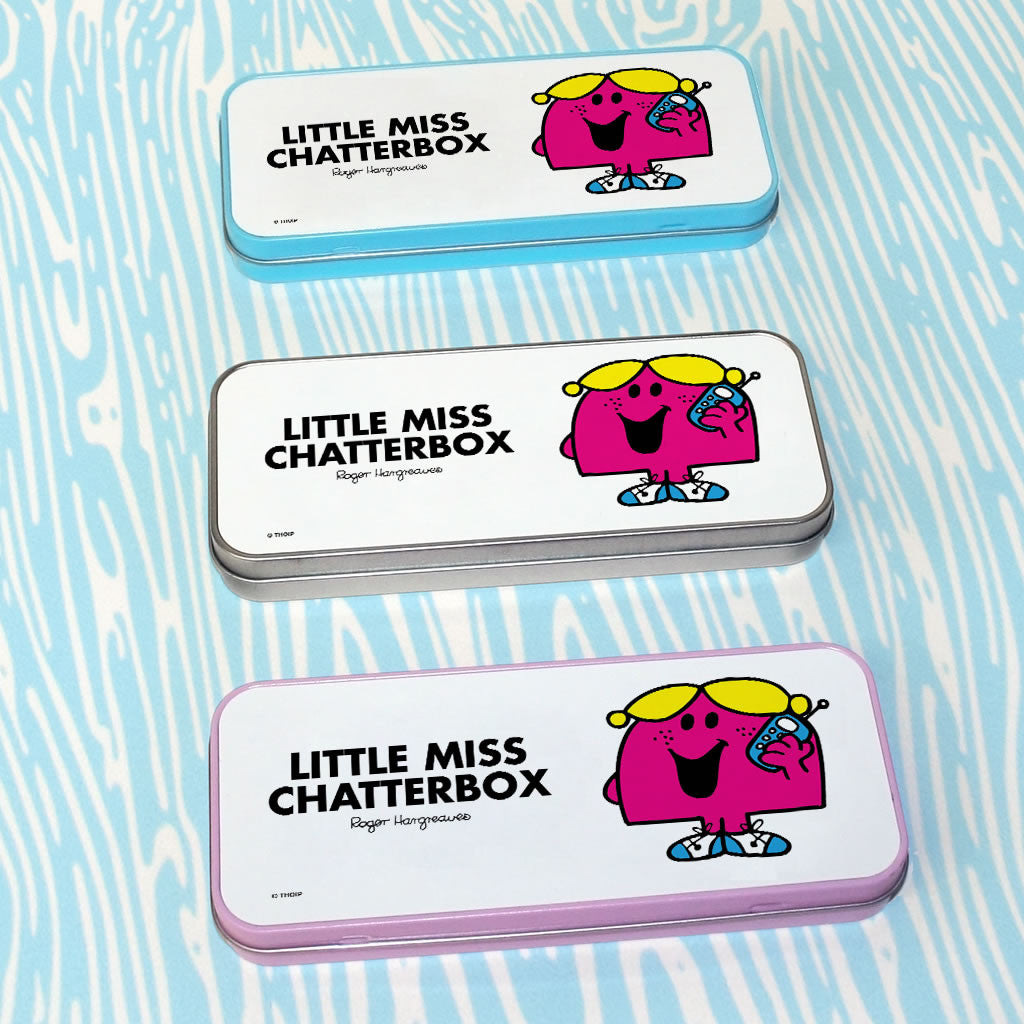 Little Miss Chatterbox Pencil Case Tin (Lifestyle)