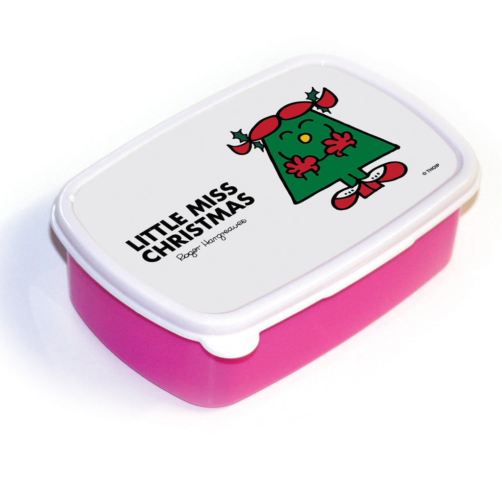 Little Miss Christmas Lunchbox (Pink)