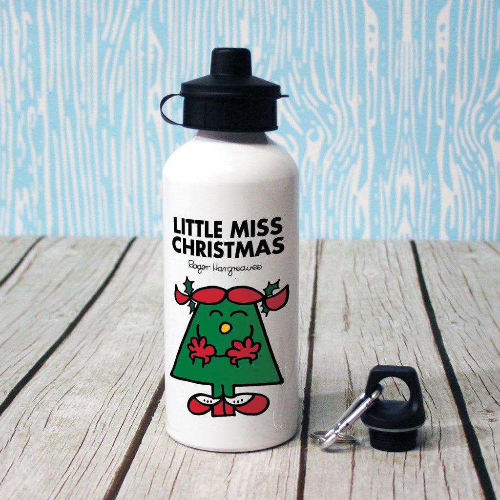 Little Miss Christmas Water Bottle (Lifestyle)