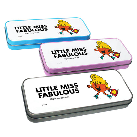 Little Miss Fabulous Pencil Case Tin
