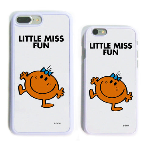 Little Miss Fun White Phone Case