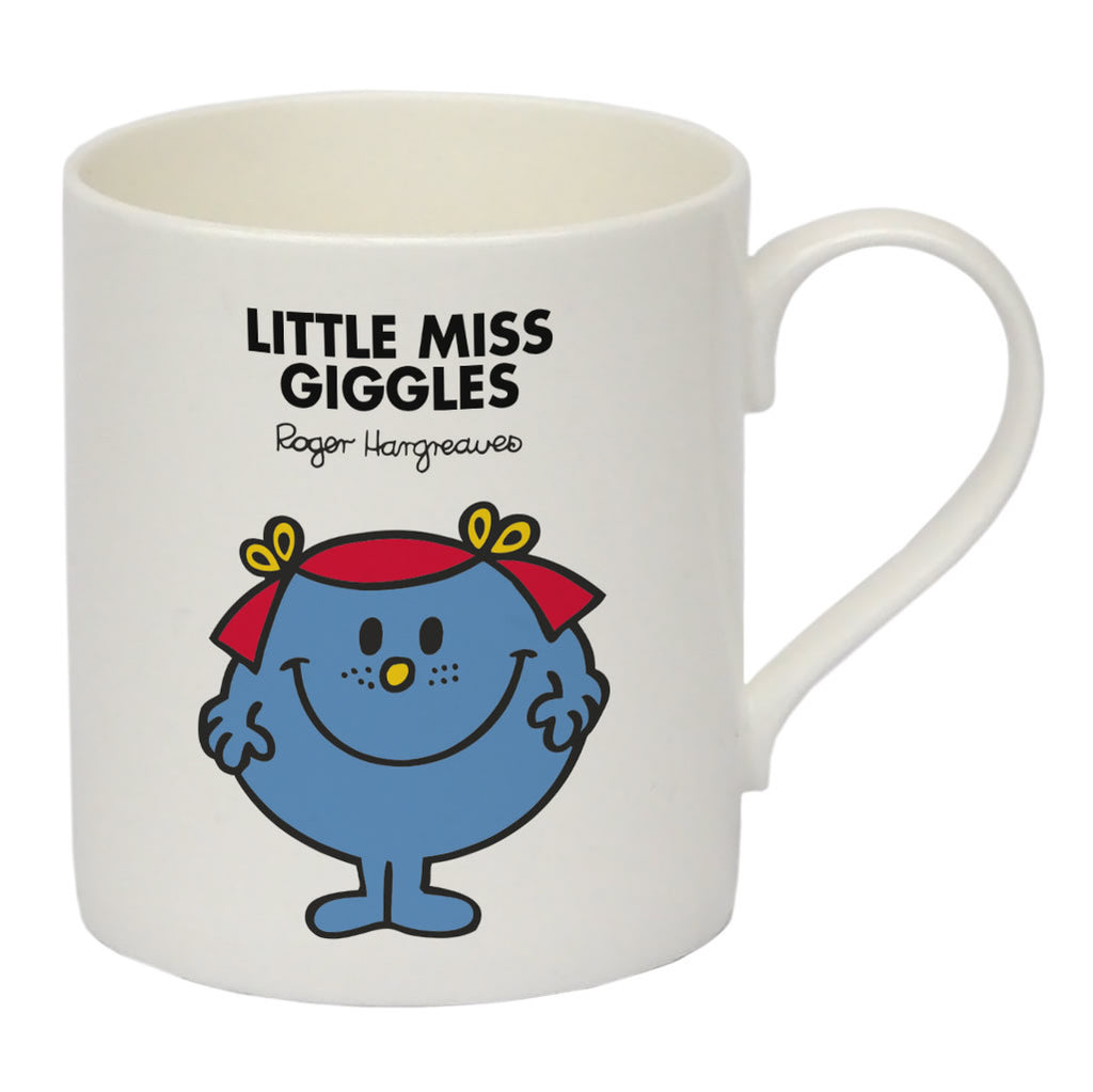 Little Miss Giggles Bone China Mug