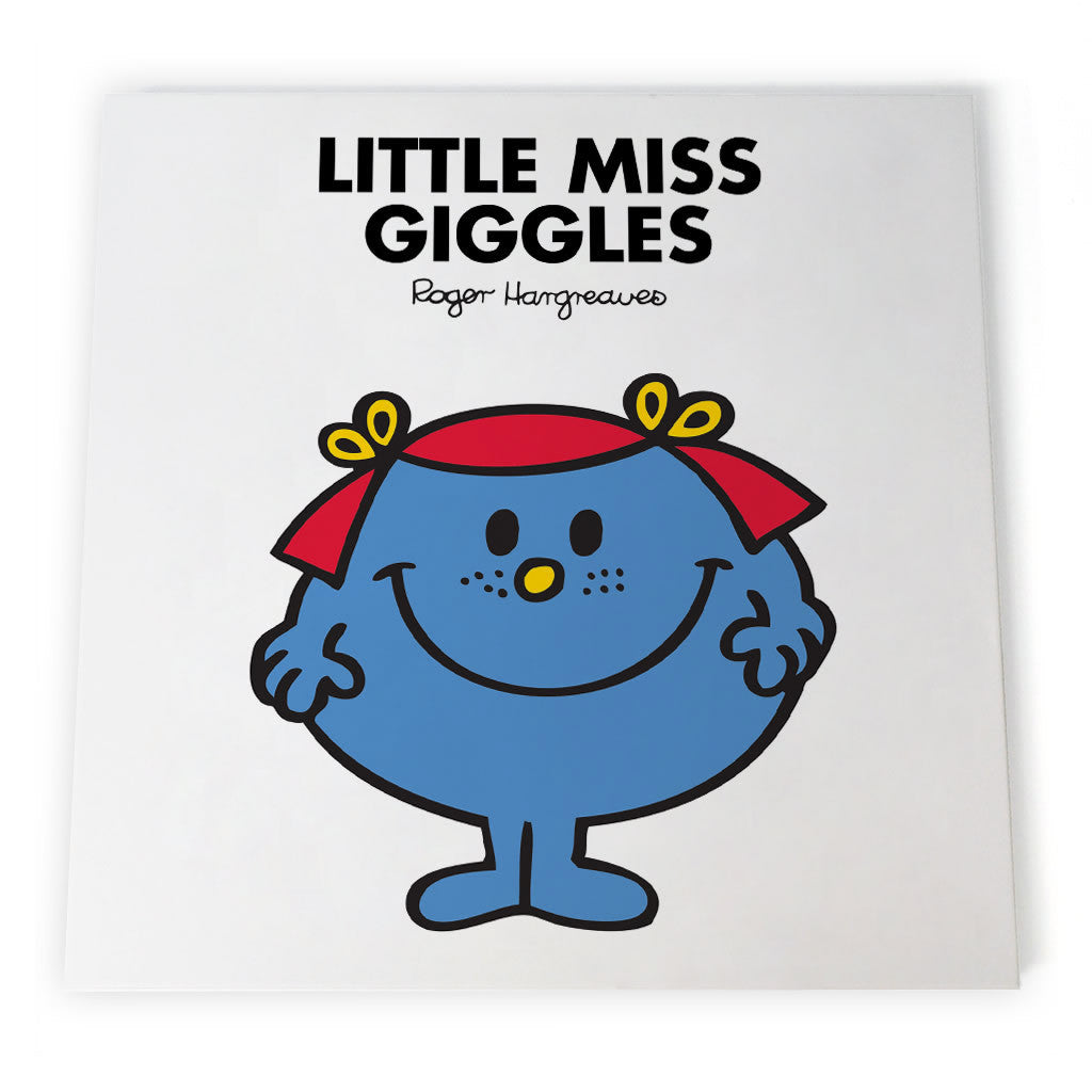 Little Miss Giggles Canvas