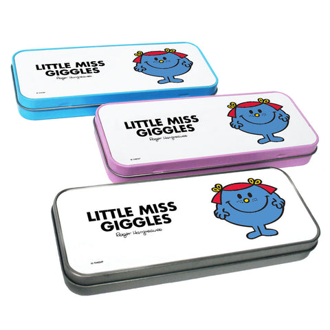 Little Miss Giggles Pencil Case Tin