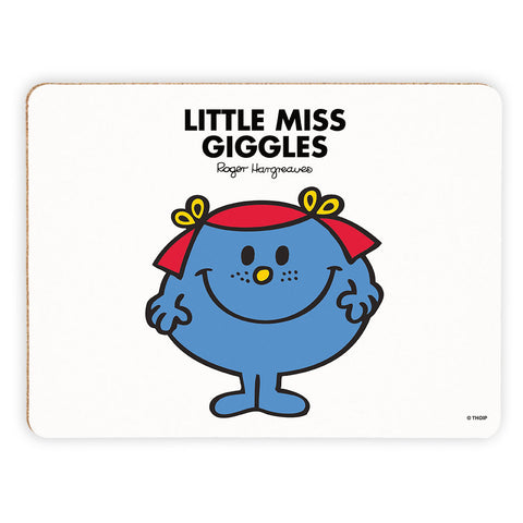 Little Miss Giggles Cork Placemat