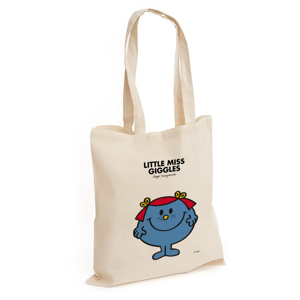 Little Miss Giggles Long Handled Tote Bag