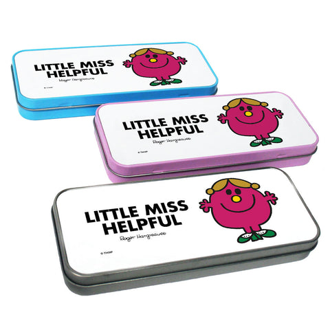 Little Miss Helpful Pencil Case Tin