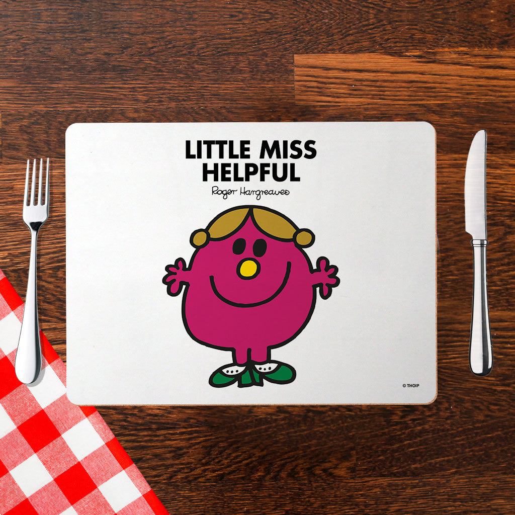 Little Miss Helpful Cork Placemat (Lifestyle)