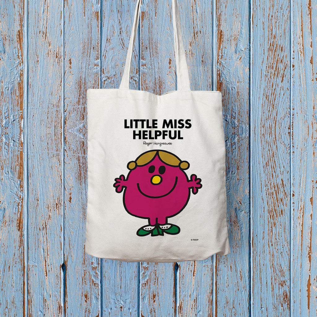 Little Miss Helpful Long Handled Tote Bag (Lifestyle)