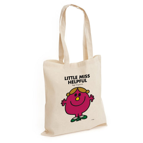 Little Miss Helpful Long Handled Tote Bag