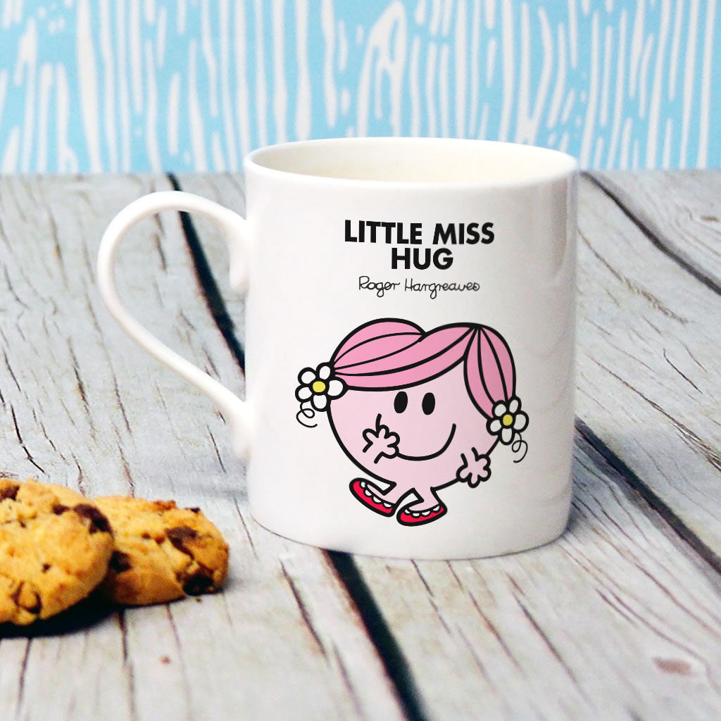 Little Miss Hug Bone China Mug (Lifestyle)
