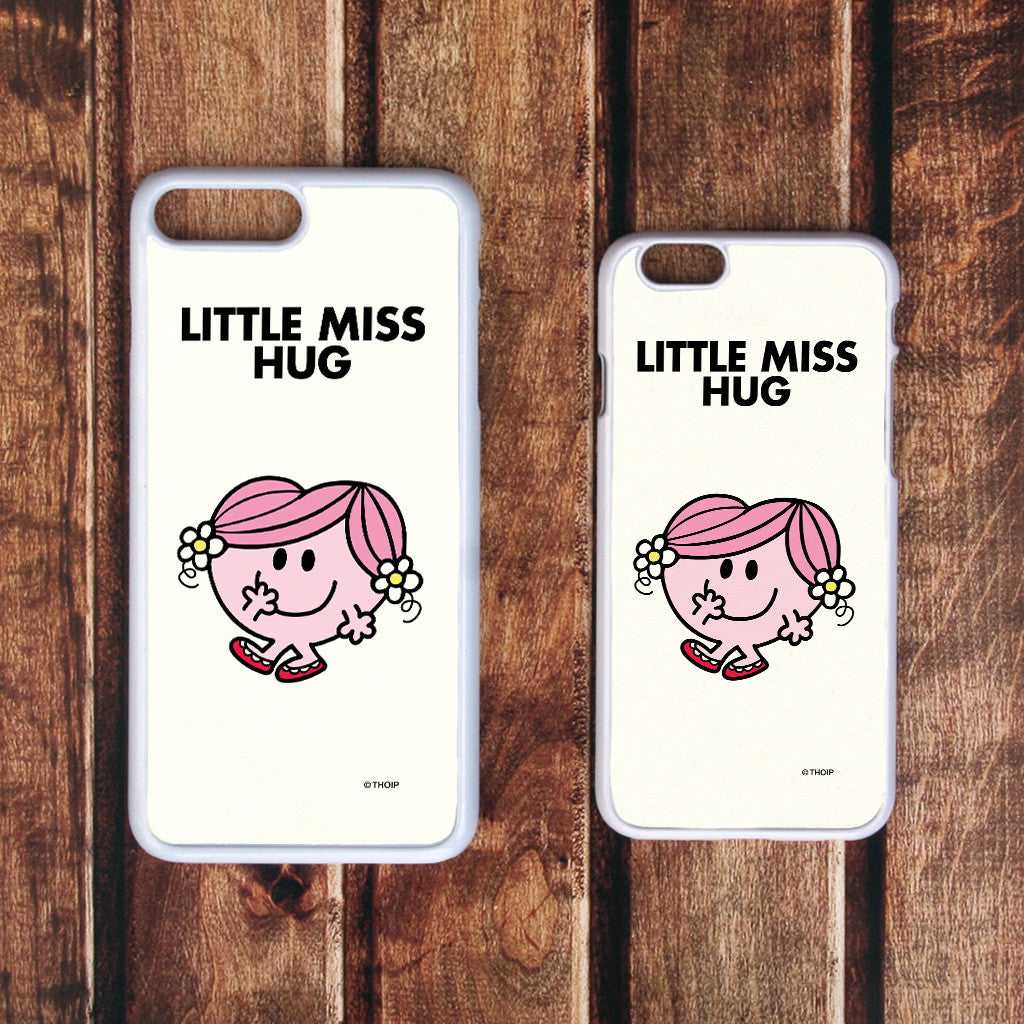 Little Miss Hug White Phone Case (Lifestyle)
