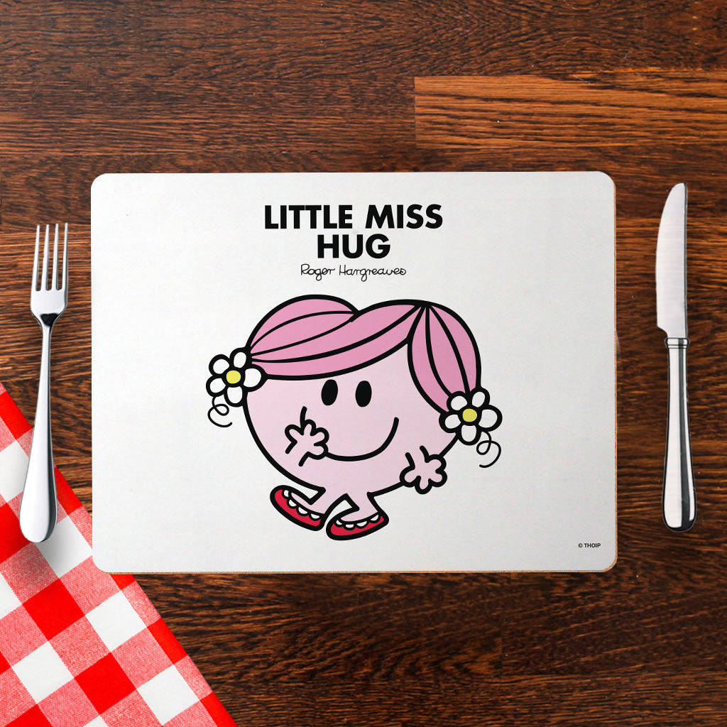 Little Miss Hug Cork Placemat (Lifestyle)