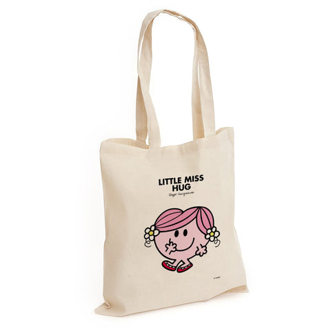 Little Miss Hug Long Handled Tote Bag