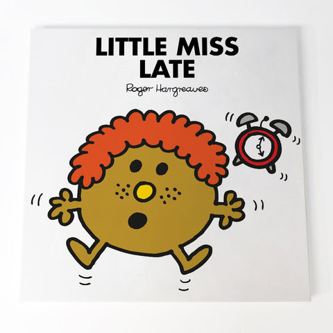 Little Miss Late Canvas